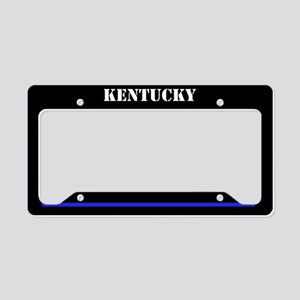 Kentucky Police License Plate Holder