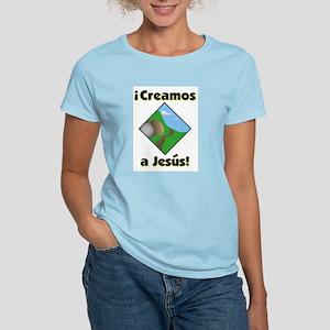 Creamos a Jesus! Women's Light T-Shirt
