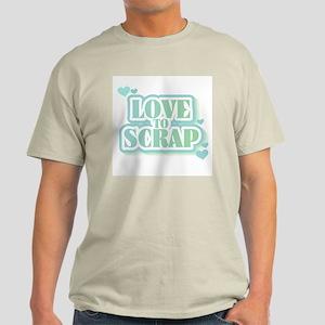 Love To Scrap Light T-Shirt