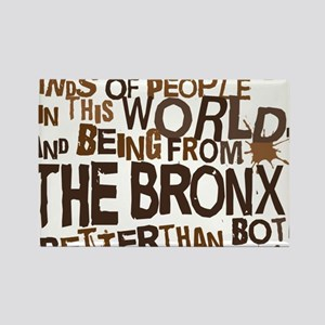 bronx_brown Rectangle Magnet