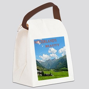SWISS CAL COVER Canvas Lunch Bag