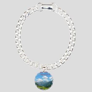 SWISS CAL COVER Charm Bracelet, One Charm