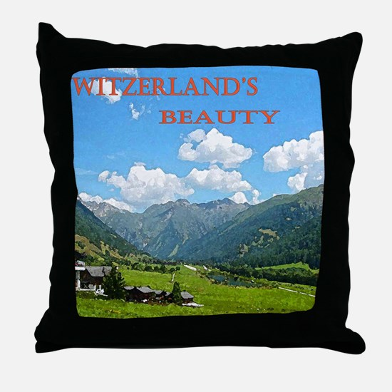 SWISS CAL COVER Throw Pillow