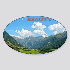 SWISS CAL COVER Sticker (Oval)