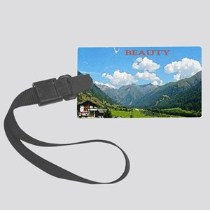 SWISS CAL COVER Large Luggage Tag