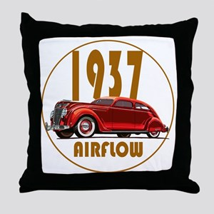 1937 Airflow-C10trans Throw Pillow