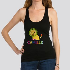 Camille-the-lion Racerback Tank Top