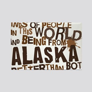 alaska_brown Rectangle Magnet