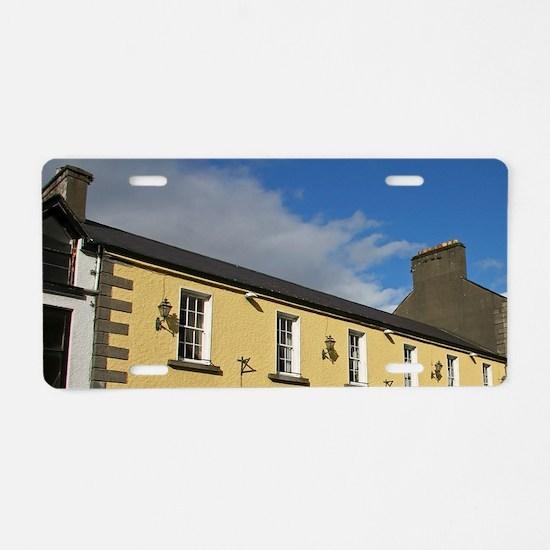 Westport, Ireland. The Atla Aluminum License Plate