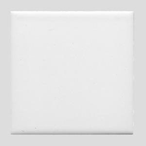 arkansas_white Tile Coaster