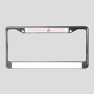 PinkGAngelTyHz License Plate Frame