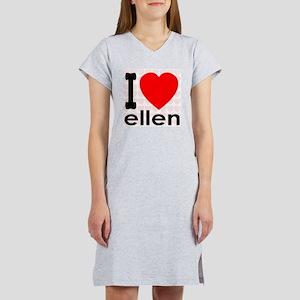 I (Heart) Ellen Women's Nightshirt