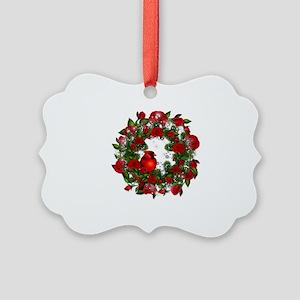 SPARKLING CARDINAL Picture Ornament