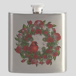 SPARKLING CARDINAL Flask