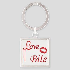 LoveBite Square Keychain