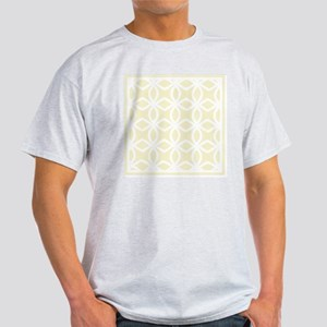 Lattice Pattern_ Gold BK Light T-Shirt
