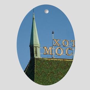 Serbia, Beograd, hotel Moskva in lib Oval Ornament