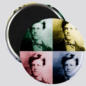 Rimbaud Pop Art Magnet