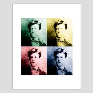 Rimbaud Pop Art Small Poster