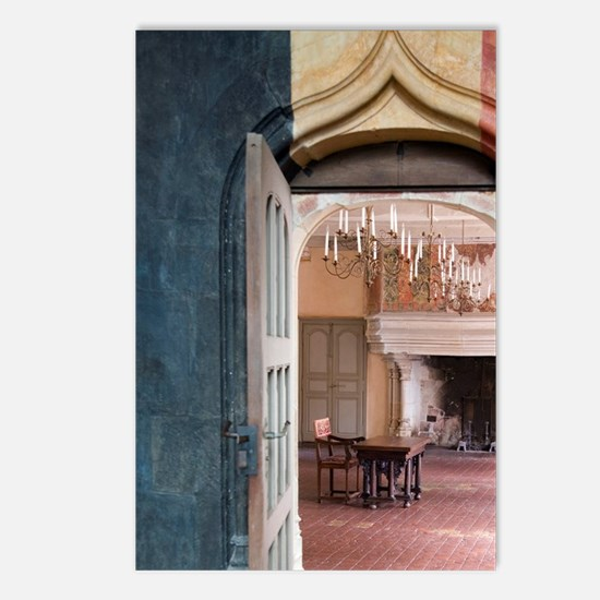 Interior of the Chateau o Postcards (Package of 8)
