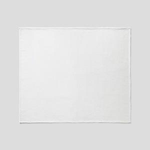 civilwar_reenactor_white Throw Blanket