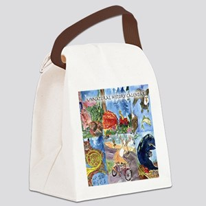 unnatural_history_calendar Canvas Lunch Bag