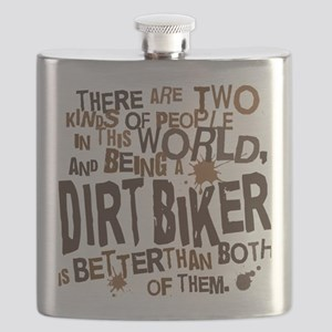 dirtbikerbrown Flask
