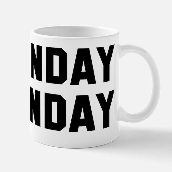 Sunday Funday black Mug