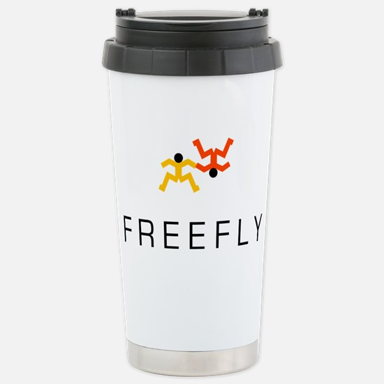 Freefly Skydivers Stainless Steel Travel Mug
