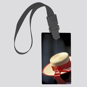 Europe, Italy, Venice, Gondolier Large Luggage Tag