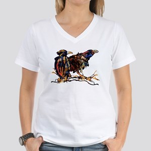 Raven Trio Women's V-Neck T-Shirt