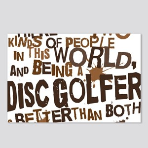 discgolfer_brown Postcards (Package of 8)