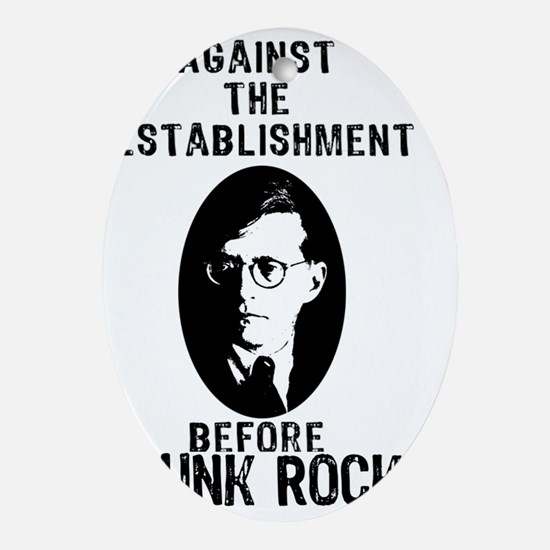 shostyagainsttheestablishment Oval Ornament