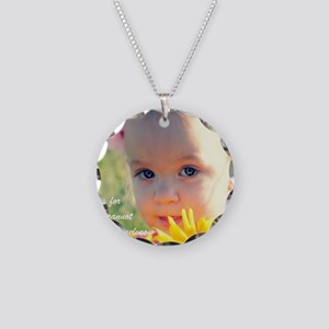 Adoption1 Necklace Circle Charm