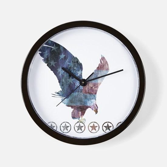 Beck_eagle_republican shirt_Beck Wall Clock