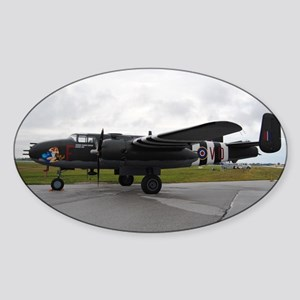 b25 mitchell Sticker (Oval)