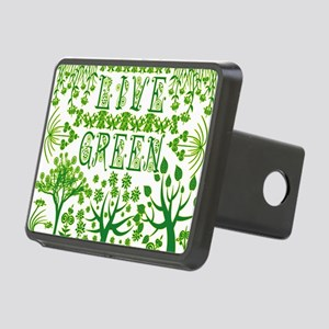 LIVE-GREEN Rectangular Hitch Cover