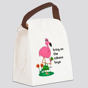 bachelorette_cabana10x10_apparel  Canvas Lunch Bag
