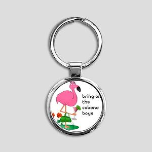 bachelorette_cabana10x10_apparel co Round Keychain