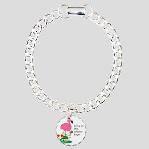 bachelorette_cabana10x10 Charm Bracelet, One Charm