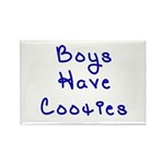 Boys Have Cooties Rectangle Magnet (100 pack)