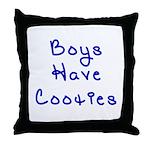Boys Have Cooties Throw Pillow
