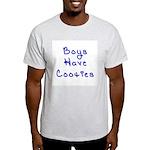 Boys Have Cooties Ash Grey T-Shirt