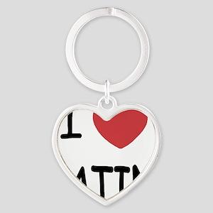 LATIN Heart Keychain