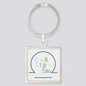 GortRobot Square Keychain