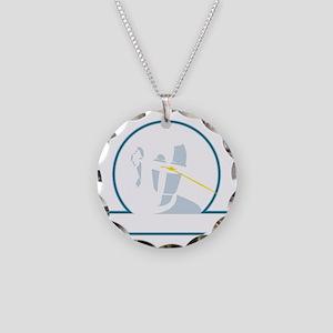 GortRobot Necklace Circle Charm