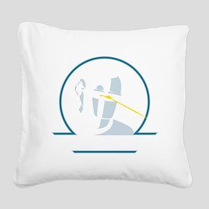 GortRobot Square Canvas Pillow