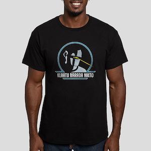 GortRobot Men's Fitted T-Shirt (dark)