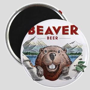BeaverBeer_Shirt_1 Magnet