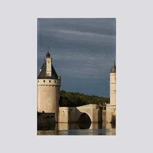 Chenonceau Chateau, River Cher, I Rectangle Magnet